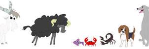 Animal Base Set 03 by SelenaEde