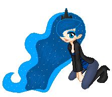 Princess Luna by SelenaEde