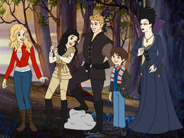 Disney's Once Upon A Time by SelenaEde