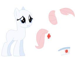Nurse Redheart Base by SelenaEde