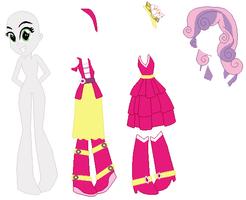 Equestria Girls Sweetie Belle Base vr. 2 by SelenaEde