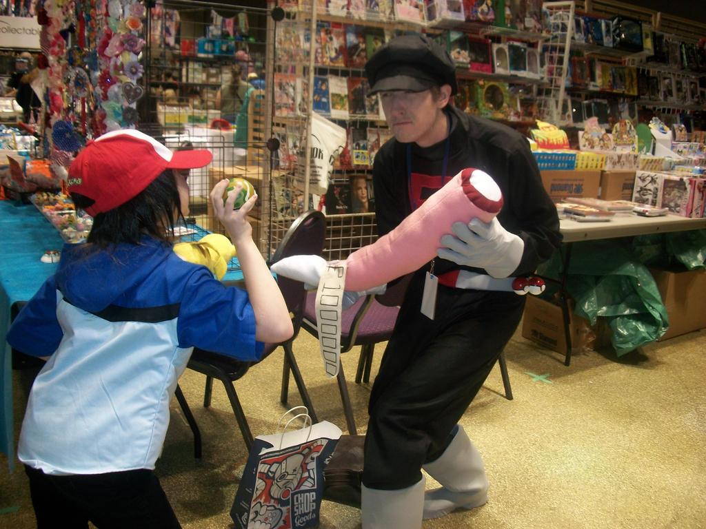 Ash vs. Team Rocket - ConBravo Cosplay by SelenaEde