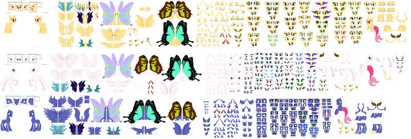 ~*Update*~ Reference Sheet Base by SelenaEde