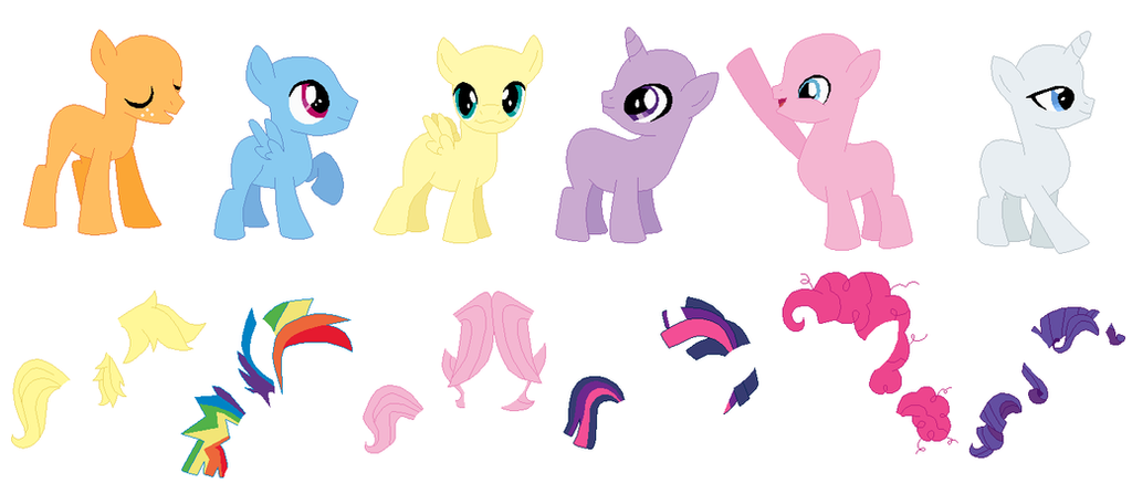 Mane 6 - Ready for Anything by MLP-Silver-Quill on DeviantArt