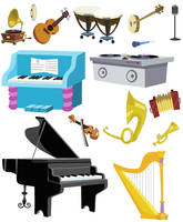 Musical Accessories by SelenaEde