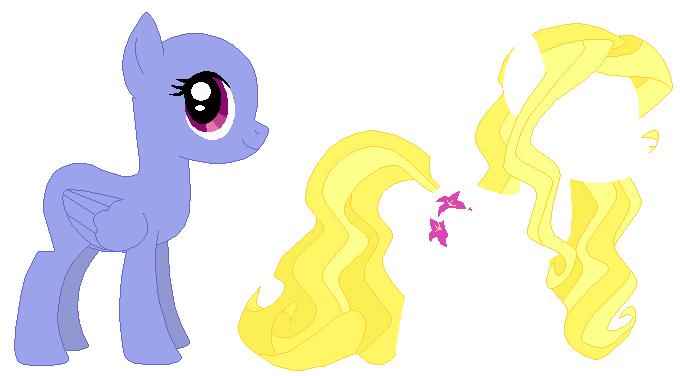 вещи для пони креатор прически тереть