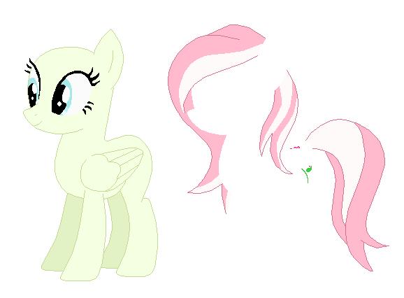 Причёски пони для фотошопа без пони