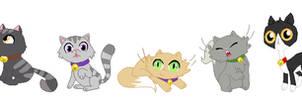 Goldie's Kitties