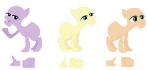 Elderly Pony Set Base
