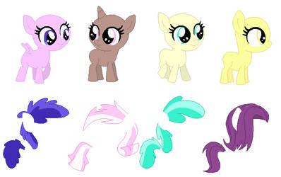 Tiny Foals Base 02