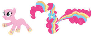 MLP Rainbow Power Pinkie Pie Base