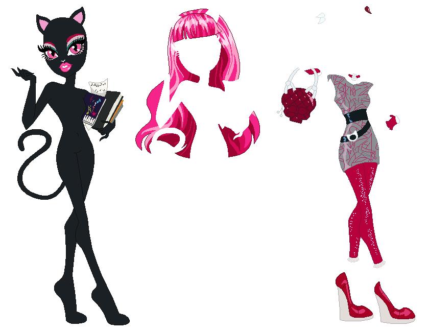 Monster High Catty Noir Base By SelenaEde On DeviantArt