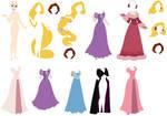 Disney - Rapunzel Base