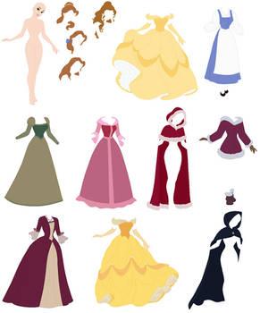 Disney - Belle Base 02