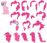 MLP Pinkie Pie Mane Set Base