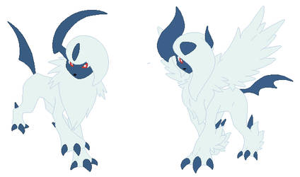 Absol and Mega Absol Base