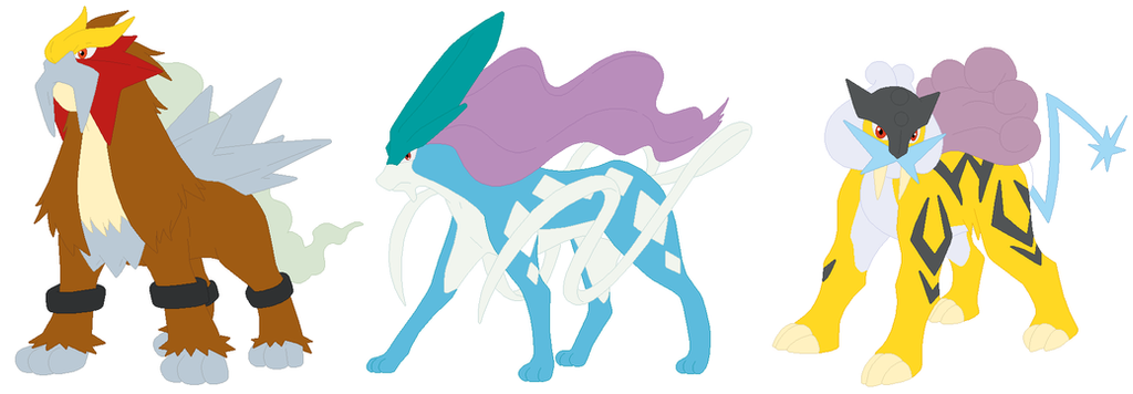 The gallery for --> Suicune Entei Raikou And Ho Oh