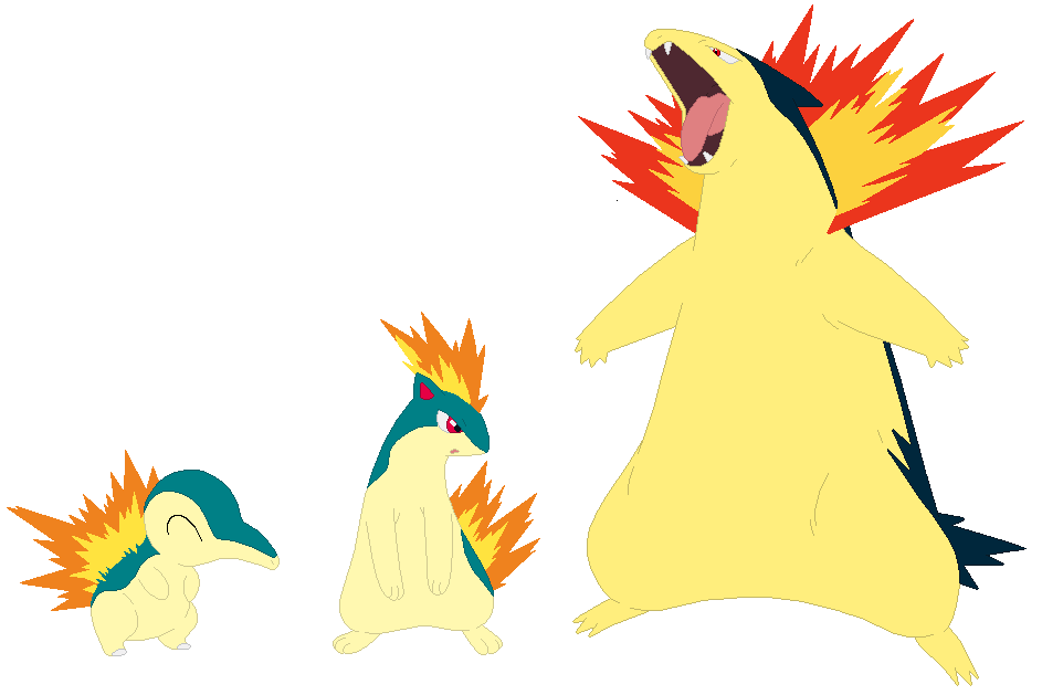 cyndaquil typhlosion quilava - photo #5