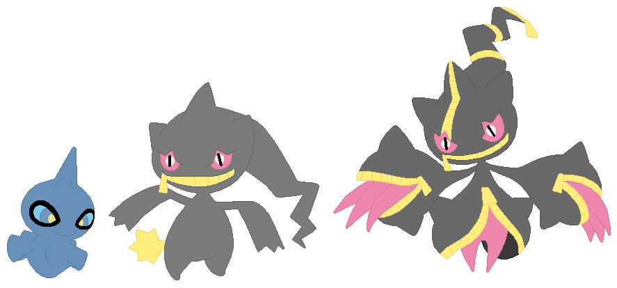 Shuppet banette and mega banette base by selenaede on - Mega branette ...