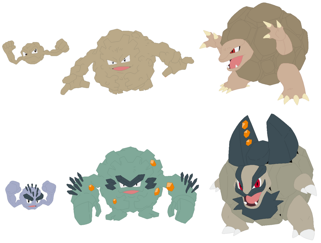 Geodude Graveler And Golem Base 594048271