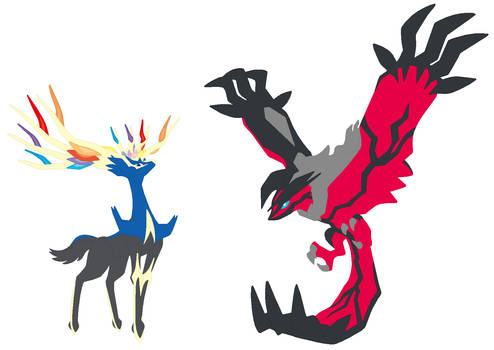 Xerneas and Yveltal Base