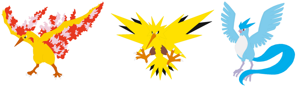 how to catch the legendary birds in pokemon yellow