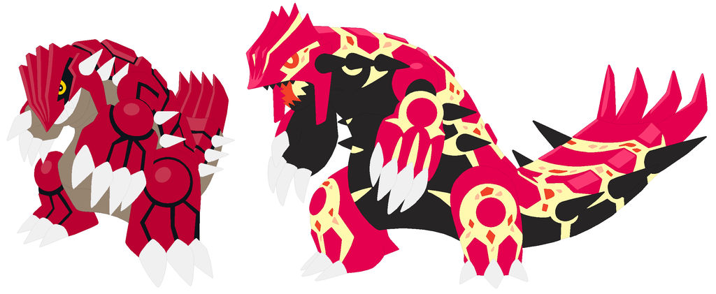 Groudon And Primal Groudon Base By Selenaede On Deviantart