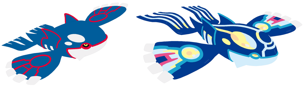 Kyogre and primal kyogre base by selenaede on deviantart - Pictures of groudon and kyogre ...
