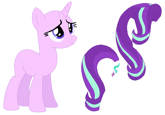 One Pony - Unicorn Mare by SelenaEde on DeviantArt