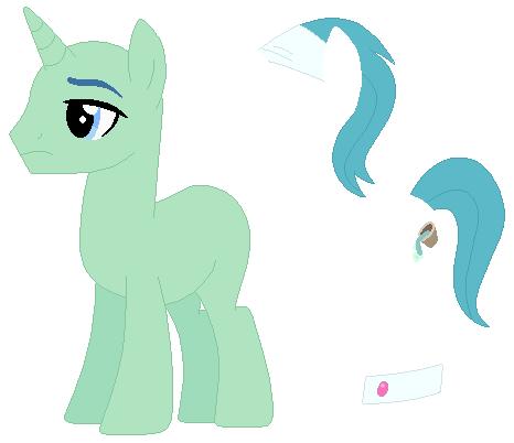 Mlp Stallion Base One Pony - Unicorn Sta...