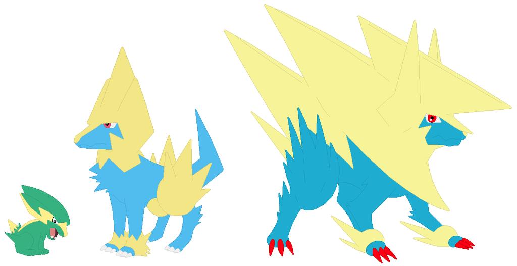 pokemon electrike evolution wwwimgkidcom the image