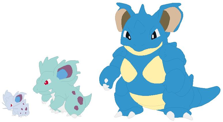 pokemon nidoqueen and nidoking breed - 773×425