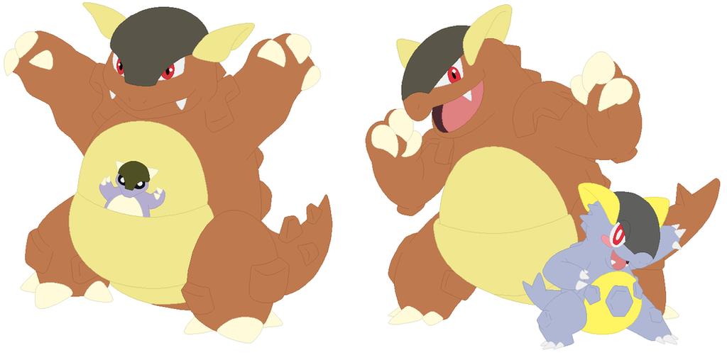 Pokemon Mega Kangaskhan Ex Images