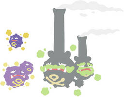 Koffing and Weezing Base