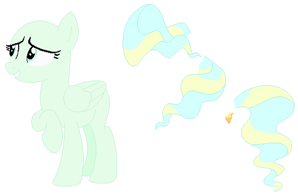 One Pony - Pegasus Mare by SelenaEde on DeviantArt | 591 x 386 png 11kB