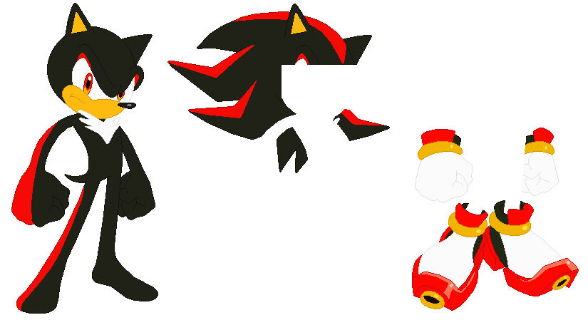 Sonic Shadow The Hedgehog Base By Selenaede On Deviantart