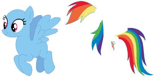 Rainbow Dash Base 02 by SelenaEde