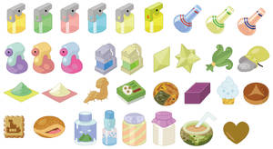 Pokemon Health Items Base Set