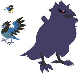 Rookidee, Corvisquire and Corviknight Base
