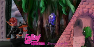 Fallout Equestria Reverence of the End (CoverCOMM)