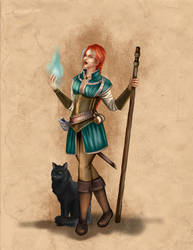 Shanja Character Design