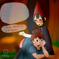 punishment in the woods...kinda by FannyThePaddle