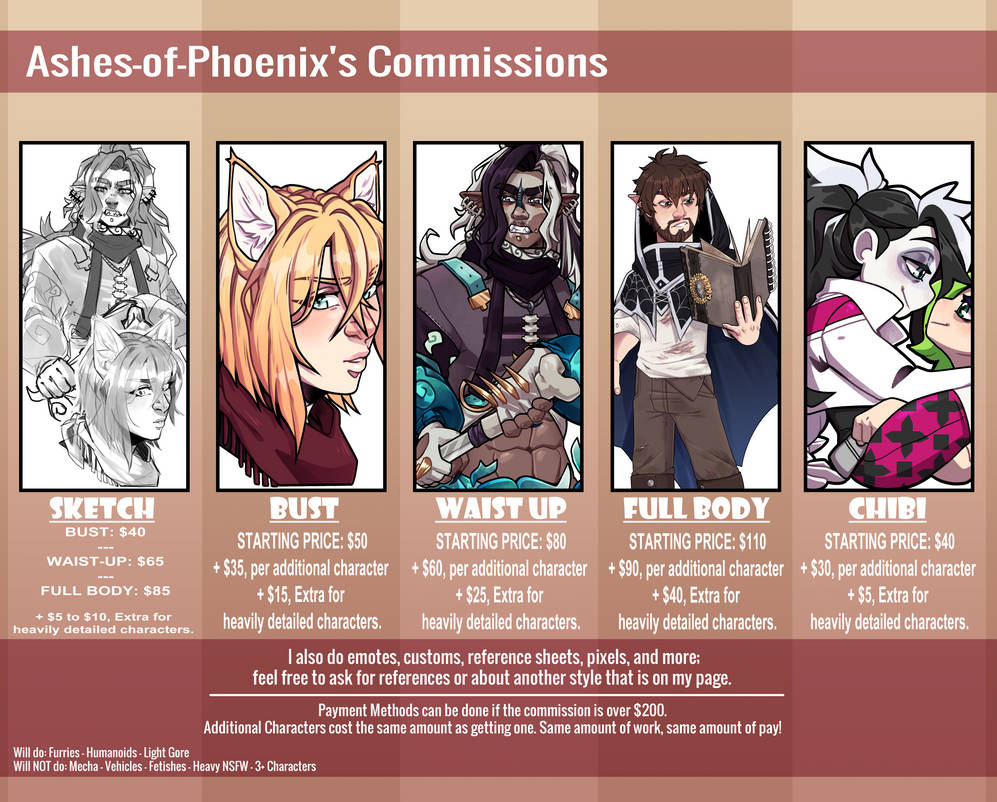 [OPEN] Commission Info 2021