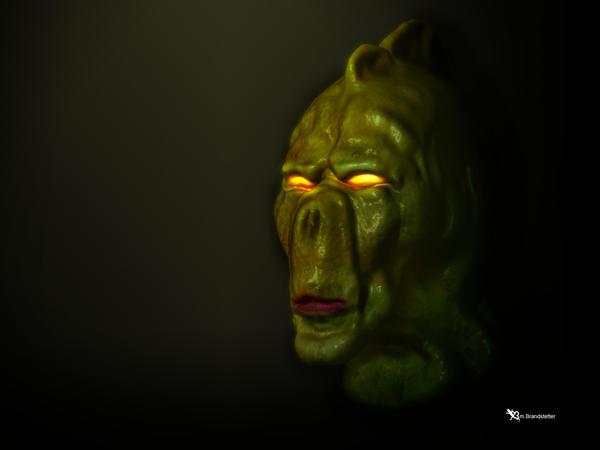 nautolan face concept by weirdone