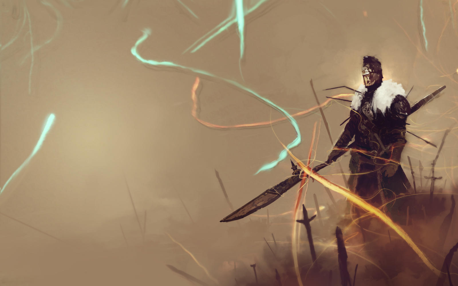 Dark Souls 2 Wallpaper Fading Soul by Appylon