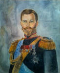 Portrait of Nicolas II