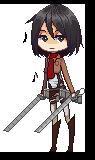 Mikasa by yuvana