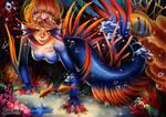 Crowntail Betta Mermaid