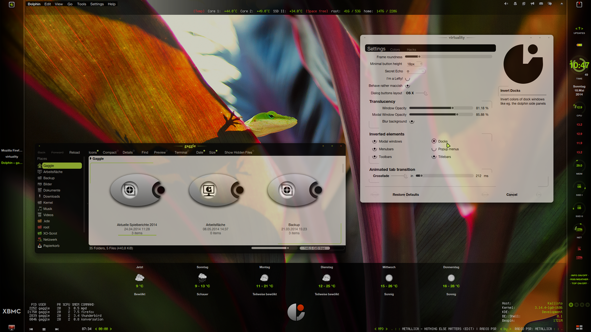 Virtuality - II - translucency by LaGaDesk