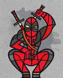 Deadpool (Marvel) by JavViz